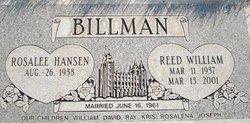 Reed William Billman