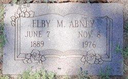 Elby M. Abney