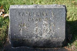 Katherine M Kate <i>McGraw</i> Hawkins