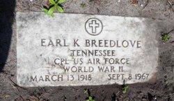 Earl K Breedlove