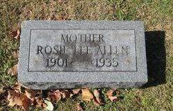 Rosie <i>Lee</i> Allen