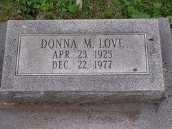 Donna M Love