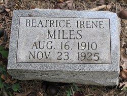 Beatrice Irene Miles