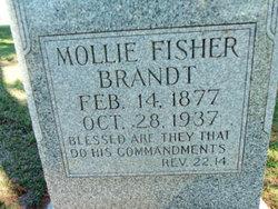 Mollie <i>Fisher</i> Brandt