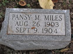 Pansy M Miles