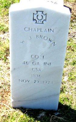 Rev Wilburn Jefferson Brown