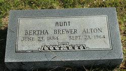Bertha <i>Brewer</i> Alton