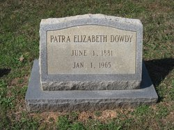 Patra Elizabeth <i>Wilkes</i> Dowdy