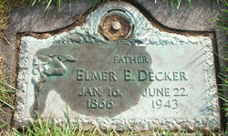 Elmer E Decker