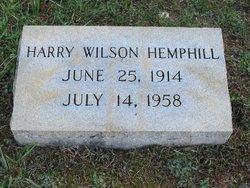 Harry Wilson Hemphill