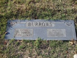 Mae <i>Pitchford</i> Burrows