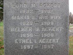 Maria E. <i>Van Valkenburg</i> Ackert