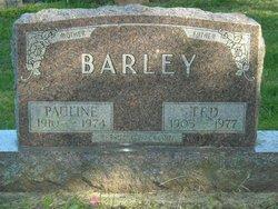 Sarah Pauline <i>Reed</i> Barley