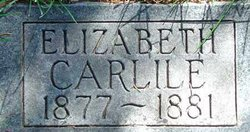 Mary Elizabeth Carlile