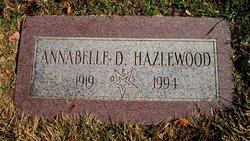 Annabelle D <i>Deck</i> Hazlewood