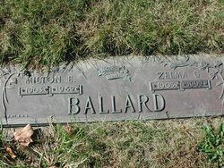Zelma Gladys <i>Heinemann</i> Ballard