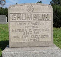 Matilda E Tillie <i>McFarlan</i> Grumbein
