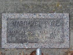 Margaret Gertrude Maggie <i>Welsch</i> Pope
