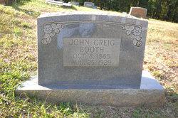 John Creig Booth
