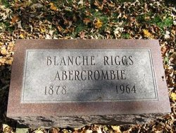 Blanche <i>Riggs</i> Abercrombie