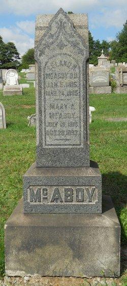 Mary A <i>Christy</i> McAboy