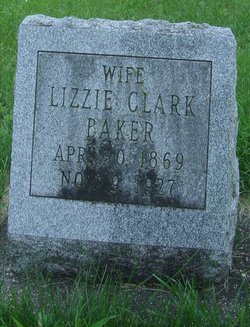 Lizzie <i>Clark</i> Baker