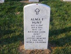 Alma F. Hunt