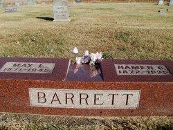 Almira May <i>Lytle</i> Barrett