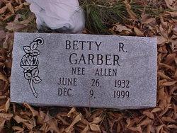Betty R. <i>Allen</i> Garber