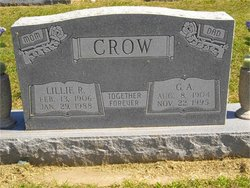 Lillie Rosetta <i>Smith</i> Crow