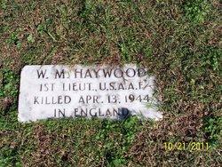 W M Haywood