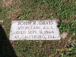 John R Davis