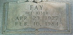 Fay <i>Kiser</i> Blythe