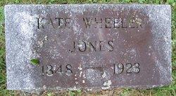 Kate <i>Wheeler</i> Jones