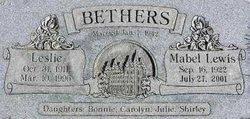 Mabel <i>Lewis</i> Bethers