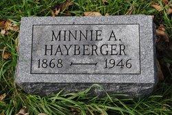 Minnie A. Hayberger