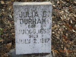 Julia E. <i>Garlitz</i> Durham