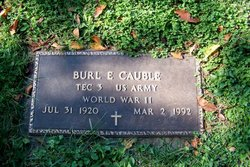 Burl Ellis Cauble