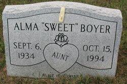 Alma Sweet Boyer