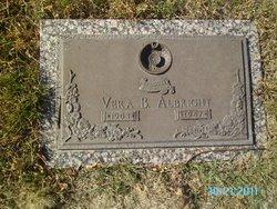 Vera B Albright