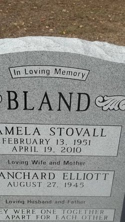 Pamela <i>Stovall</i> Bland