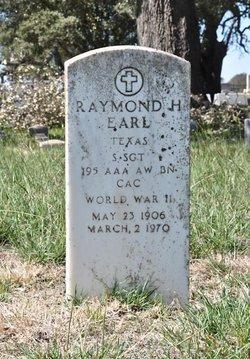 Sgt Raymond H Earl