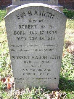 Eva Mary Anna <i>Mason</i> Heth