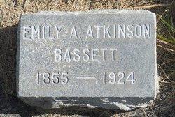 Emily A. <i>Atkinson</i> Bassett
