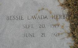 Bessie Lavada Herbert