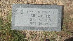 Minnie M <i>Williams</i> Showalter