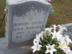 Dorothy Louise <i>Sloan</i> Hooberry
