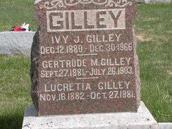 Gertrude M. <i>Barber</i> Gilley