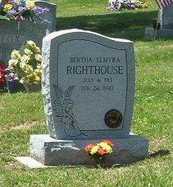 Rev Bertha Elmyra Righthouse