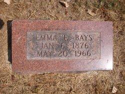 Emma C Bays